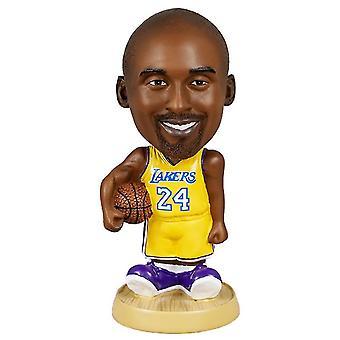 Venalisa Kobe Bryant Figurine d'action Statue Bobblehead Basketball Doll Décoration