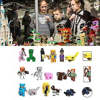 29pcs Minecraft Blocks Figures Building Characters My World For Lego