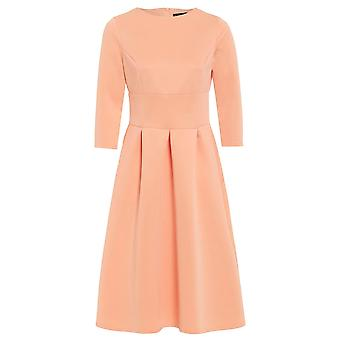 Love2Dress 3/4 Sleeve Midi Skater Dress