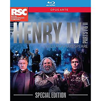 Henry IV Part 1 & 2 - Special Edition [BLU-RAY] USA import