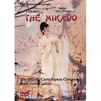 Gilbert & Sullivan - Mikado Complete Opera [DVD] USA import