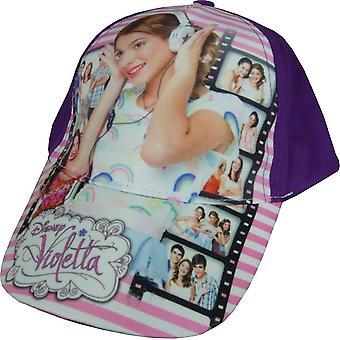 Děvčata Disney Violetta/Baseballová čepice s nastavitelným zadním