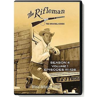 Rifleman: Season 4 - Vol 1 - Episodes 111 - 126 [DVD] USA import