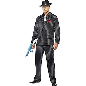 Costume de mens costume Mafia gangster