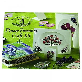 House of Crafts Flower Pressing Craft Kit