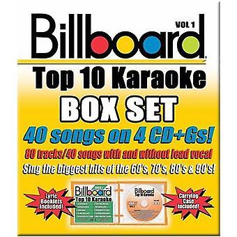 Billboard Top 40 Karaoke - Vol. 1-Billboard Top 40 Karaoke Box Set [CD] USA import