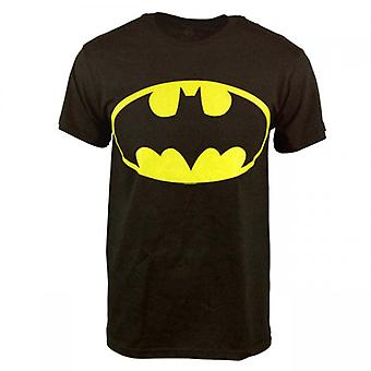 Batman Mens réversible que je suis Batman T Shirt noir