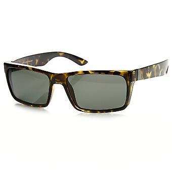 高品質偏光レンズ長方形アクション スポーツ サングラス