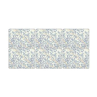 Pimpernel Willow Boughs Blue Placemats, sada 6