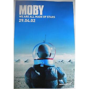 Moby We Are All Made of Stars Poster
