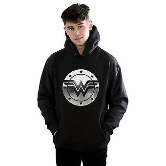 DC Comics Men's Wonder Woman Spot Logo Hoodie