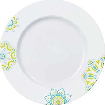 Lissie mønstrede Side plade