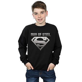 DC Comics jungen Superman Mann der Stahlschild Sweatshirt