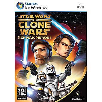 Star Wars Clone Wars - tasavalta sankareita PC DVD