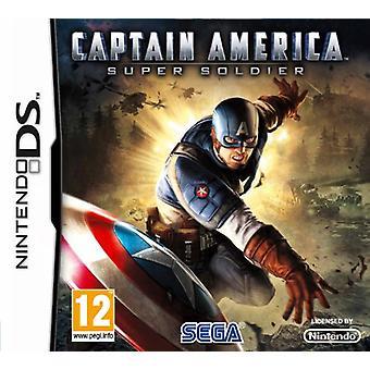 Captain America Super Soldier (Nintendo DS) - New
