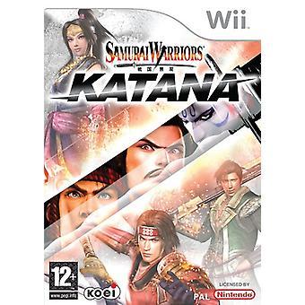 Samurai Warriors Katana (Wii)-fabriek verzegeld