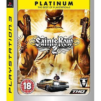 Saints Row 2 - Platinum Edition (PS3) - New