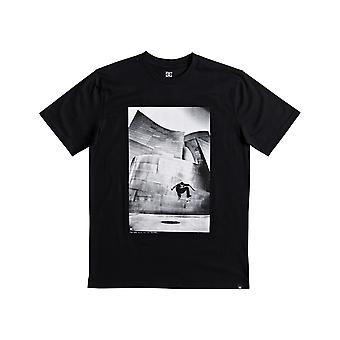 DC Tiago Switch Flip Short Sleeve T-Shirt en noir