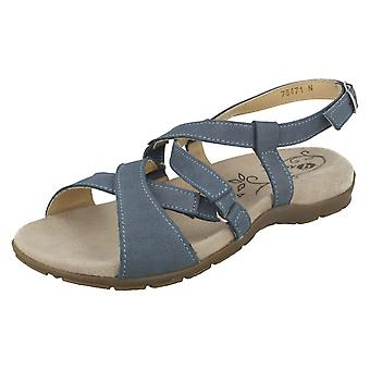 Señoras Easy B Sandalias Strappy Nancy 78471N