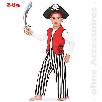 Kids pirat sørøver kostume pirat kostume børn pelssæl pirat barn kostume