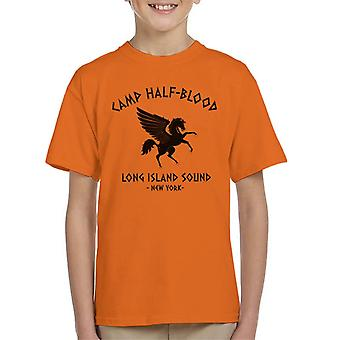 T-shirt do Percy Jackson Camp Half Blood miúdo