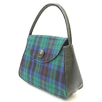 Harris Tweed or Tartan Handbag S (Welsh Phillips Tartan)