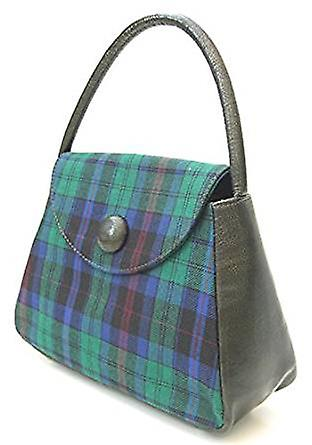 Harris Tweed or Tartan Handbag S (Welsh Phillips Tartan)