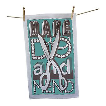 Make Do & Mend Tea Towel