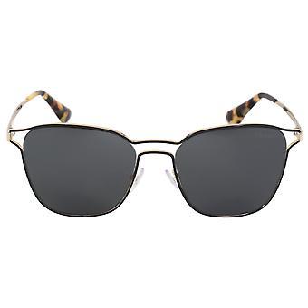 Zonnebrillen van Prada Cinema Square PR54TS 1AB5S0 55 | Frame zwart | Koolstof lenzen