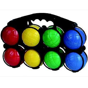 Jeu De Boules Set Plastic 8 Ballen