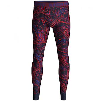 Bjorn Borg Tour Eiffel Stampa Long Johns, Navy/Claret