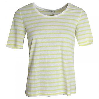 Oui Short Sleeve Stripe T-shirt
