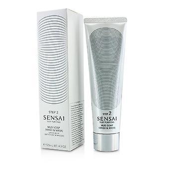 Kanebo Sensai Silky Purifying Mud Soap - Wash & Mask (new Packaging) - 125ml/4.3oz