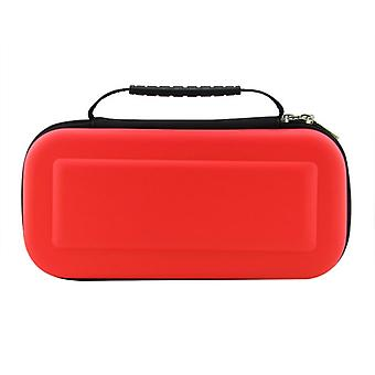 Nintendo Switch bag for game console and cassettes-red