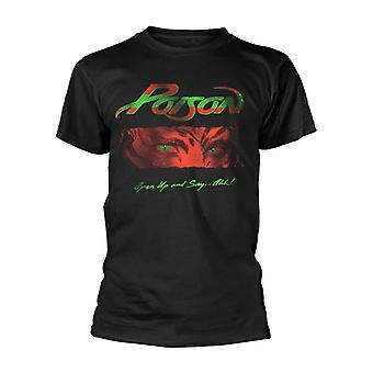 Poison Open Up And Say Ahh  T-Shirt
