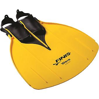 Gioventù FINIS Wave monopinna - Womens Mens 1-7 2-8 - giallo