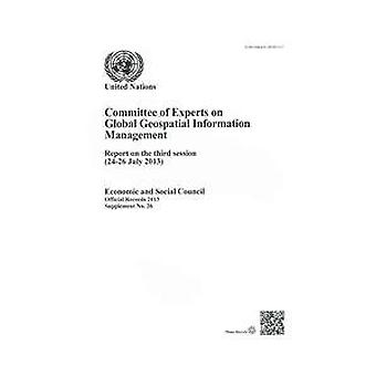 Committee of Experts on Global Geospatial Information Management - Rep