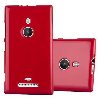 Cadorabo Case for Nokia Lumia 925 Case Cover - Mobile Phone Case made of flexible TPU silicone - Silicone Case Protective Case Ultra Slim Soft Back Cover Case Bumper