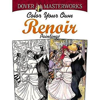 Dover Masterworks: Färg din egen Renoir målningar