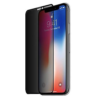 Privacy 0.26 mm 9 H 3D full tempered glass shock film for Apple iPhone XS Max Schutz glass armoured glass