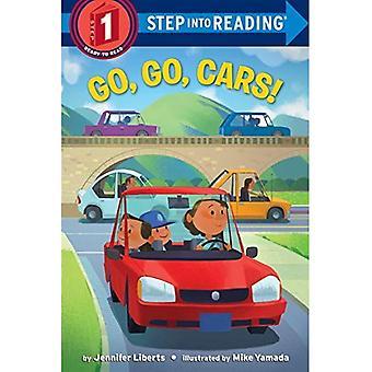 Go, Go, Cars! (Step Into Reading)