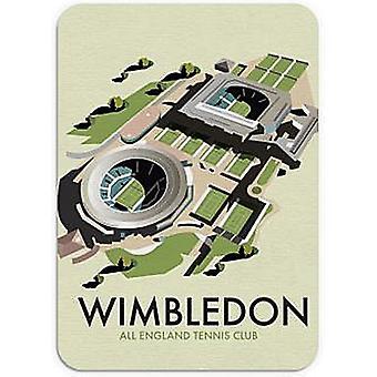 Wimbledon tenis mysz mata 245 Mm X 195 Mm
