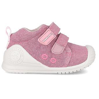 Biomecanics Girls 192201-B Canvas Shoes Pink