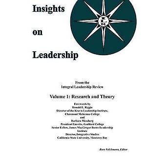 رؤى بشأن القيادة حجم 1 النظرية والبحثية بروس & فولكمان