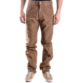 Gant Ezbc144018 Uomini's Brown Denim Jeans