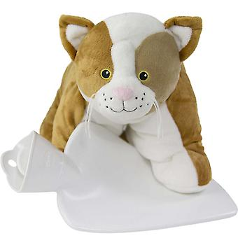 Hugo Frosch Hot Water Bottle 3 In 1 Cuddly Cat Cover 1.8L