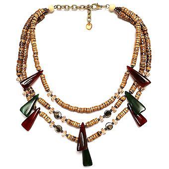 Zen Jewellery Multi Strand Beaded Necklace