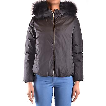 Voeg Ezbc193008 Women's Black Nylon Outerwear Jacket toe