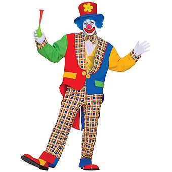 Clown In The Town Circus Birthday Party Funny Men Costume