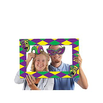Mardi Gras Photo Fun Frame
